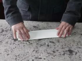 书法的折纸方法,太实用了!
